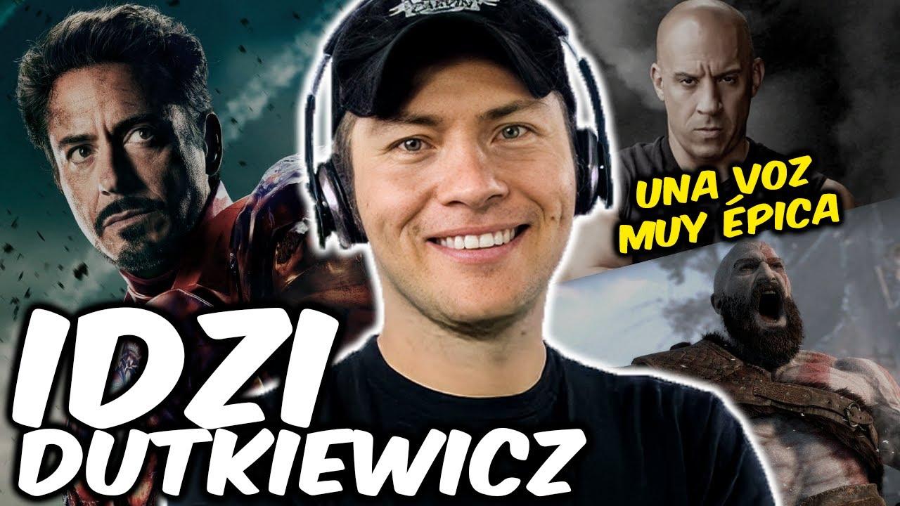 Personajes con la voz de IDZI DUTKIEWICZ | Iron Man, Toretto, Kratos, Kowalski | VOCES QUE DAN VIDA