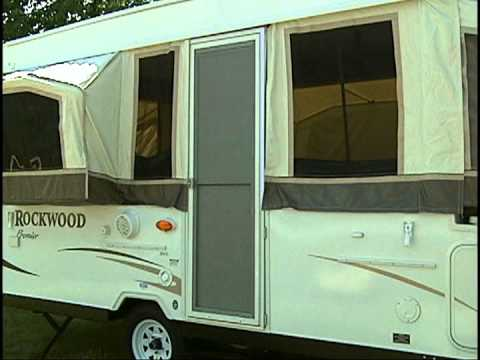 Rockwood Hw High Wall Popup Camper Setup Youtube