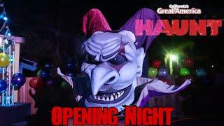 CA Great America Halloween Haunt Opening Night Vlog