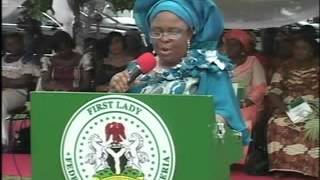 firstlady federal republic of nigeria at the 2 years anniversary of Al-muhibbah foundation