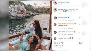 Dulceida disfruta de su isla favorita con Alba Paul