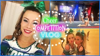 Cheer Competition VLOG! | MissKyleesBeauty Thumbnail