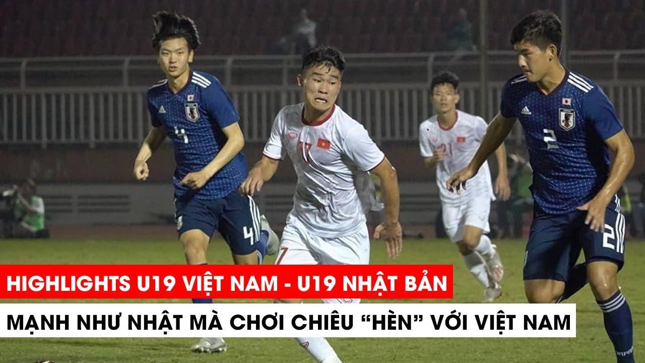 Highlights U19 Việt Nam vs U19 Nhật Bản   Chiếc thẻ đỏ đáng đời   Khán Đài Online