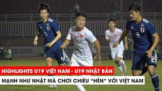 Highlights U19 Việt Nam vs U19 Nhật Bản | Chiếc thẻ đỏ đáng đời | Khán Đài Online