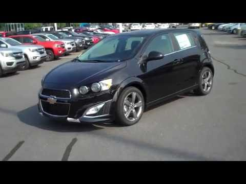2016 Chevrolet Sonic Hatchback RS Black, Burns Cadillac Chevrolet