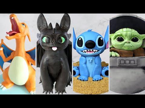AMAZING Disney CAKES & More Compilation!   Satisfying Cake Decorating Ideas 2020