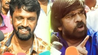 Vishal ran away because he was afraid | Cheran and SV Shekar Furious Speech | TR |TN684