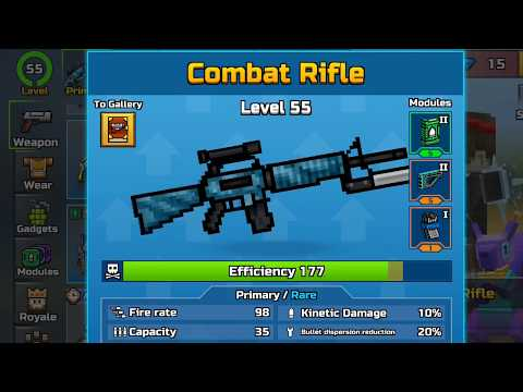 Level 55 Combat Rifle Weapon Review