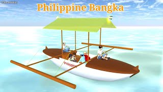 Philippine Bangka ( With Props Id ) | SAKURA SCHOOL SIMULATOR | SHORTFILM