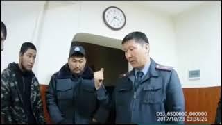 Депутат местного кенеша вступил в перепалку с инспекторами патрульной милиции