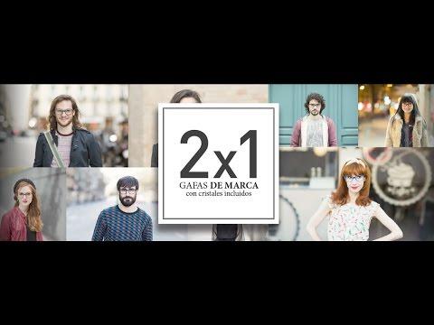 0f4dd1f8e5 OPTICALIA 2x1 en Gafas de Marca con Cristales Incluidos - YouTube