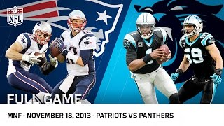 Cam Newton Beats Tom Brady | Patriots vs. Panthers (Week 11, 2013) | NFL Full Game