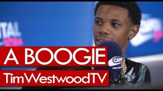 A Boogie Wit Da Hoodie on new generation, Drake, Young Thug, new music - Westwood