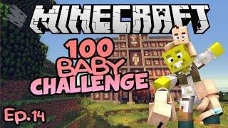 Water goddess!! | Minecraft 100 Baby Challenge Ep.14
