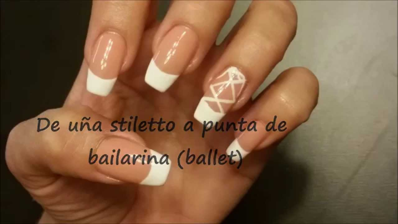 De stiletto a punta de bailarina - YouTube