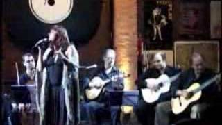 Fadista portuguesa Ciça Marinho -Ao Vivo-