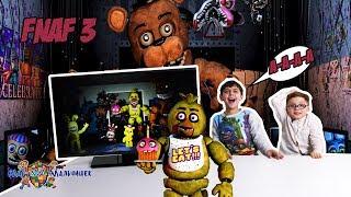 ЯРИК и ЕЛИСЕЙ играют в ПЯТЬ НОЧЕЙ С ФРЕДДИ 3 Five nights at Freddys Обзор игры Видео для детей