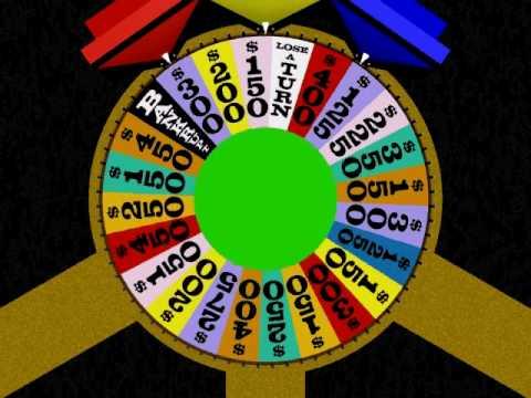 wheel of fortune animation youtube