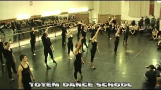 TOTEM DANCE SCHOOL - 20.02.12 - Открытый урок группа jazz-modern (medium)