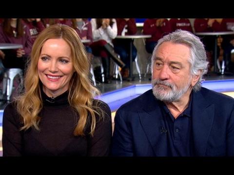 Leslie Mann, Robert De Niro Interview on 'The Comedian' | GMA