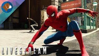 SPIDER-MAN PS4 Walkthrough Gameplay Live Stream Part #2