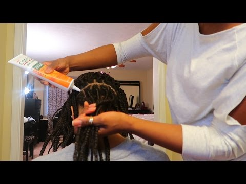 How To Clean Scalp W/ Braids Using Cantu Products