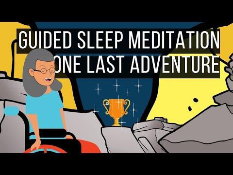 One Last Adventure 😴 SLEEP STORY FOR GROWNUPS 💤 Guided Sleep Meditation   Deep Sleep Hypnosis
