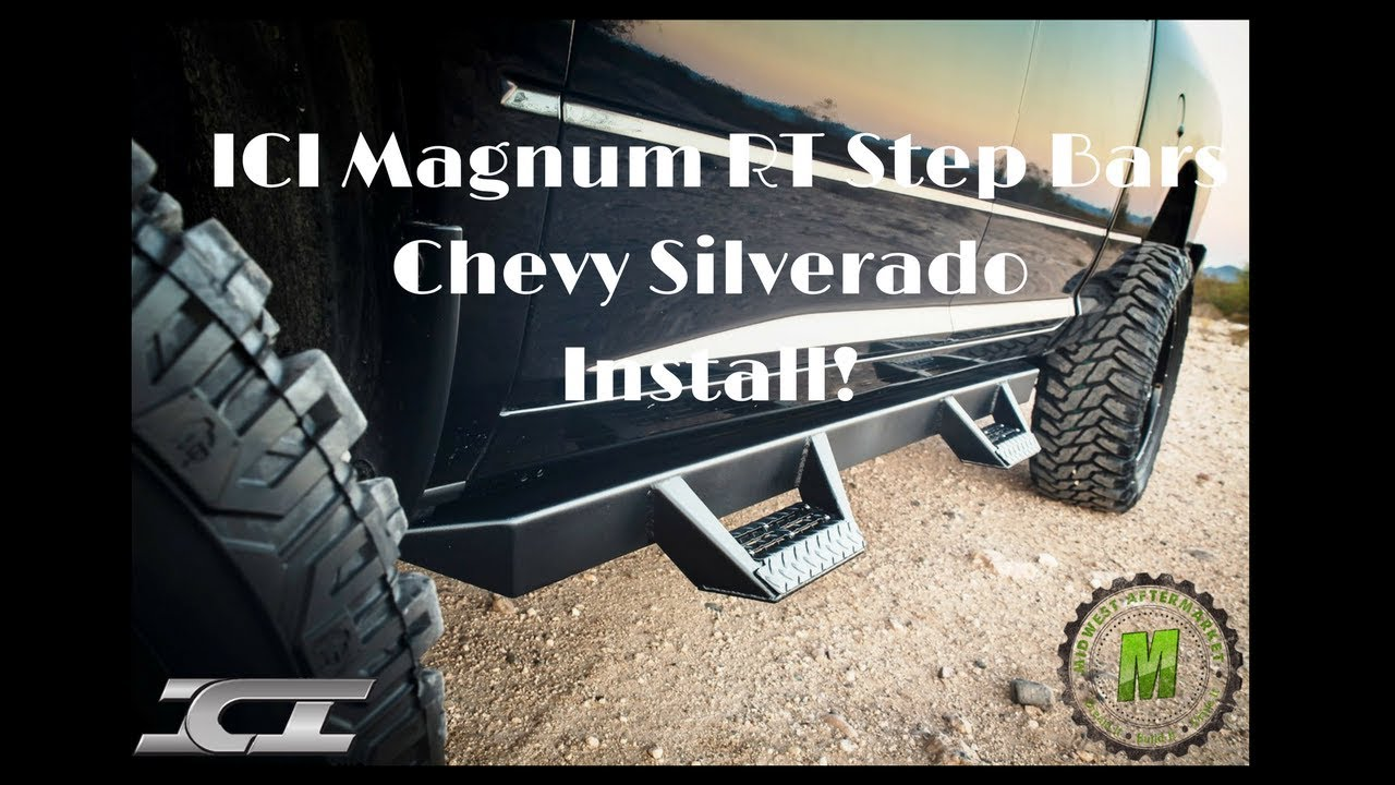 Ici Magnum Rt Step Bars Rts14Ch For Chevy Silverado -7292