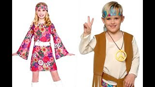 Vestido hippie niña