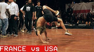 France vs USA  / ALL VS ALL / The Notorious IBE 2018