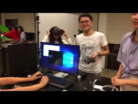 NYU Shanghai VR Setup