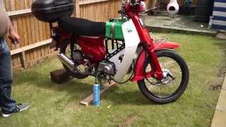 propane motorbike