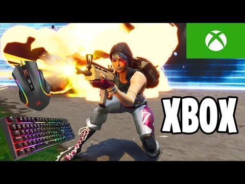 How To Use Keyboard And Mouse To Play Fortnite On XBOX!