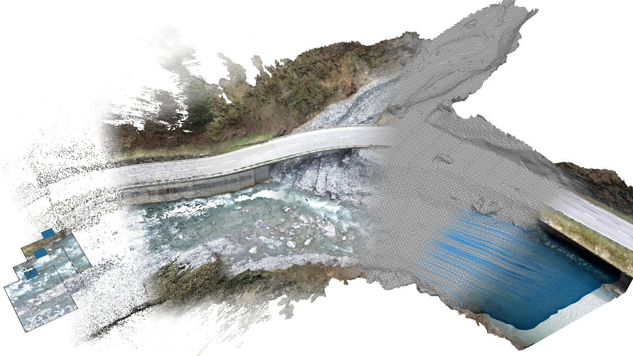 UAVs for hydraulic risk assessments of bridges