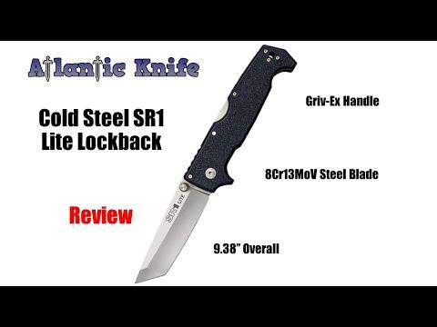 Cold Steel SR1 Lite Lockback Folding Knife Review | Atlantic Knife Reviews 2020