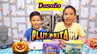 Desafio Plutonita com meu irmão João Pedro 😝