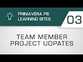 Learning Bites S02E03 - Primavera Team Member Project Updates (Primavera P6 EPPM)