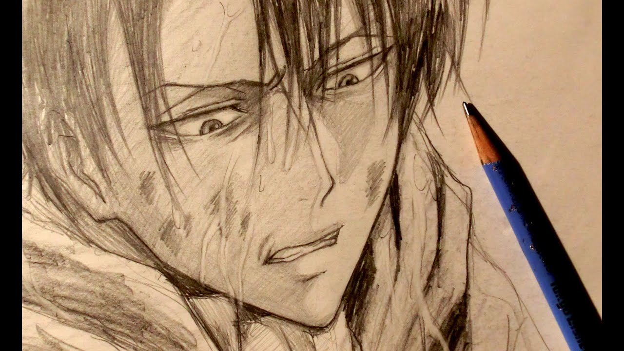 Asmr pencil drawing 7 attack on titan request