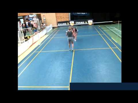 King of Rackets - Centre court: Badminton