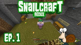 Snailcraft Redux: Episode 1 - Making a Vault Door