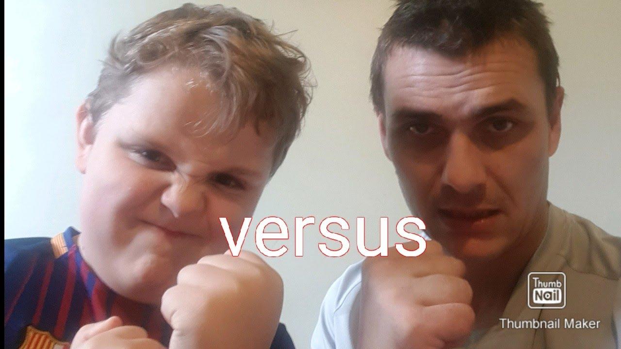 Dad vs son brawl stars challenge