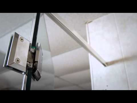Soft Close Shower Door Hinges Paragon By Coastal Youtube