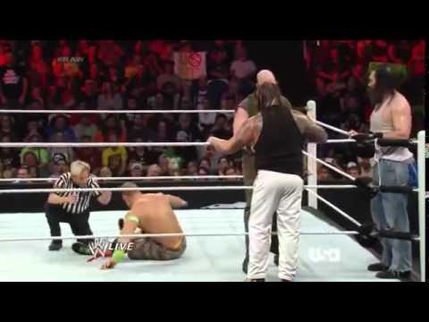 John Cena and The Shield vs The Wyatt Family (Full Match)