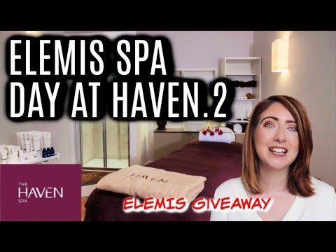 ELEMIS GIVEAWAY and HOT STONE MASSAGE HAVEN SPA EXETER