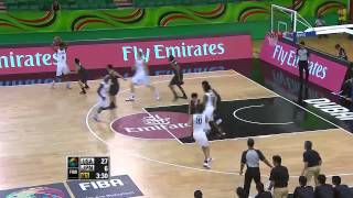 【高校バスケ】 日本 vs アメリカ 【2014年】 第1Q