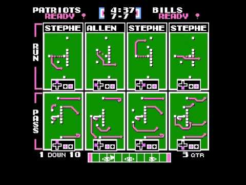 Steve Grogan Passing Challenge Week 10 vs Bills