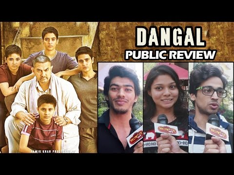 DANGAL PUBLIC REVIEW - BEST MOVIE 2016 - Standing Ovation For Aamir Khan