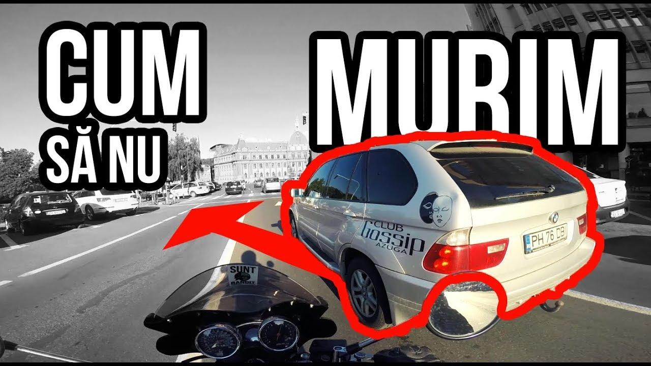 Conducere defensivă: Cum să nu mori pe motor, primii pași!