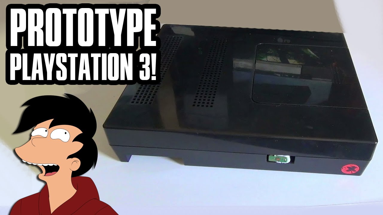 Exciting RARE PROTOTYPE PS3 Showcase! - YouTube  Exciting RARE P...