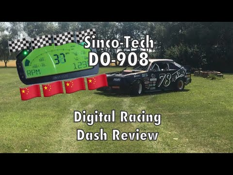 Chinese Digital Race Dash Review - Sinco-Tech DO-908
